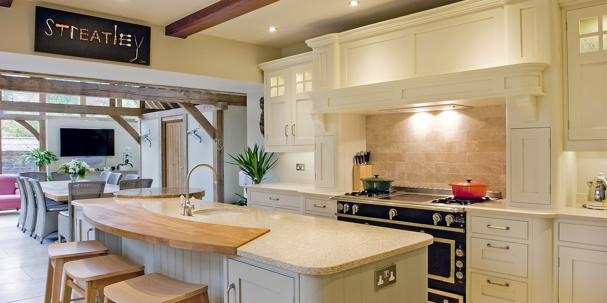 Edwin Loxley Kitchens At Channel Island Ceramics Guernsey