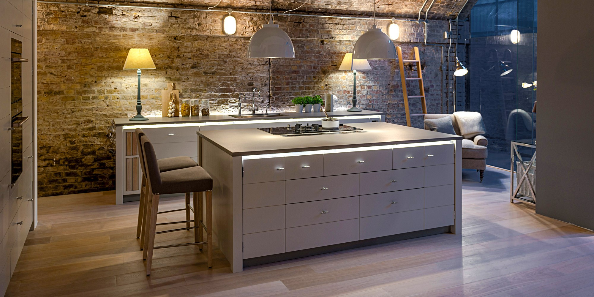 Limehouse Kitchen Neptune: Neptune Kitchens At Channel Island Ceramics, Guernsey