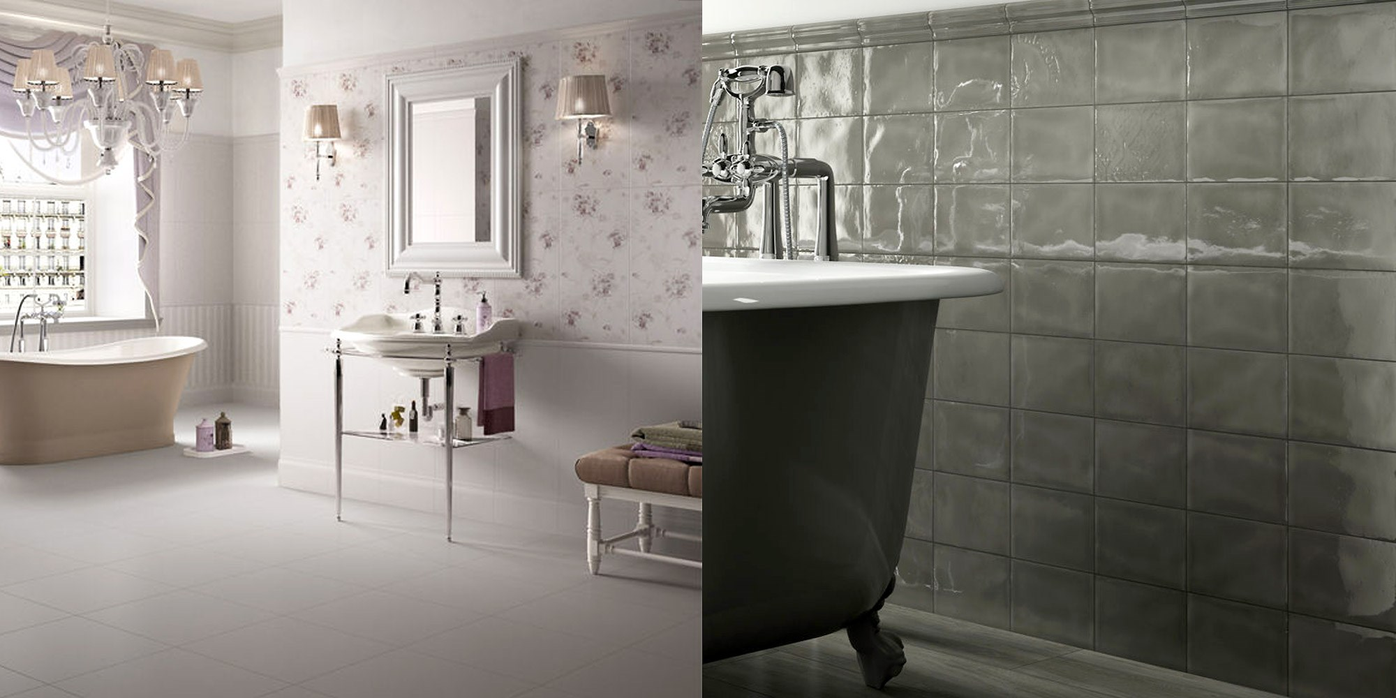 CLASSICAL BATHROOMS from Channel Island Ceramics - Classical