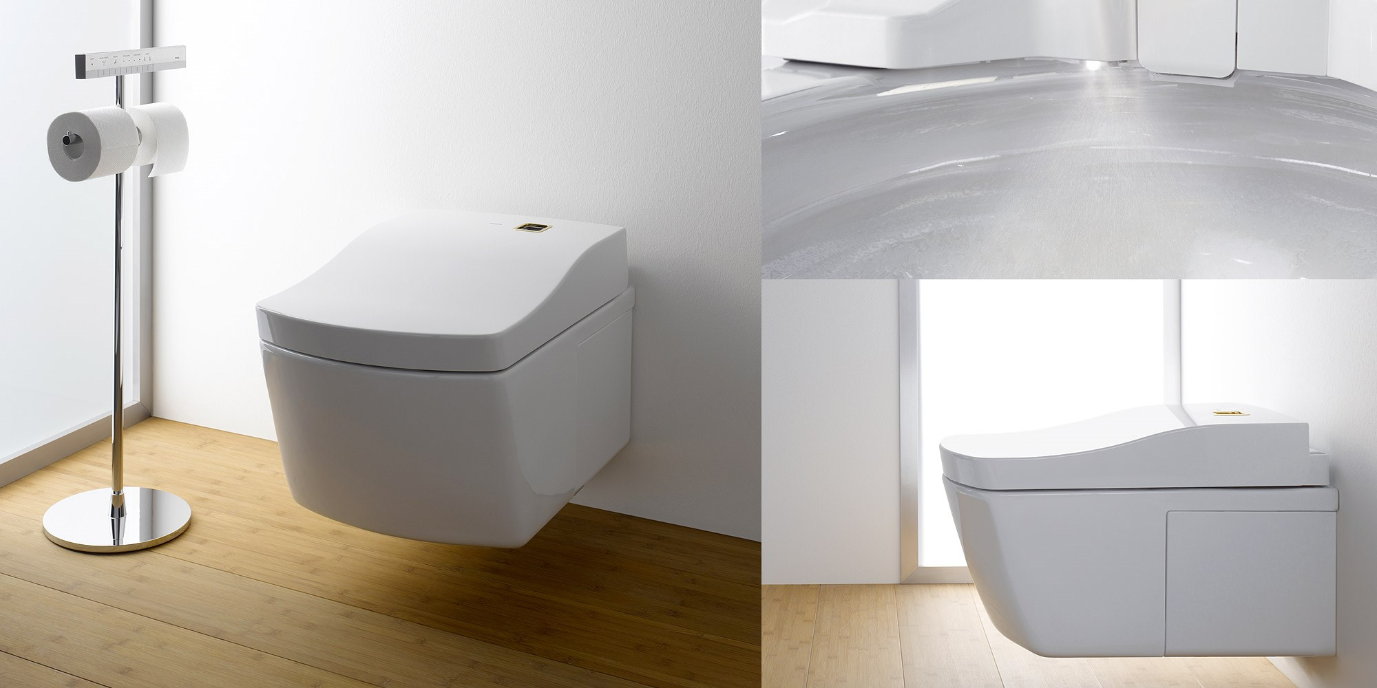 Toto bathrooms at Channel Island Ceramics, Guernsey